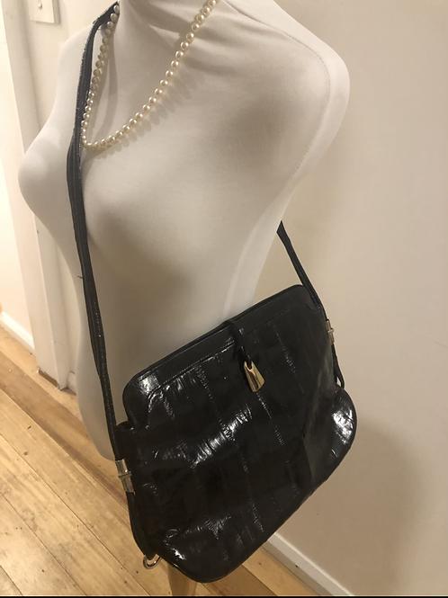 Vintage 1960's leather handbag