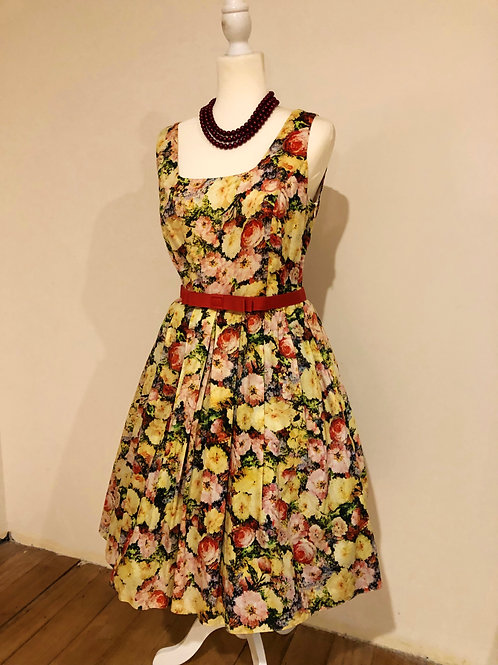 Designer very very cotton floral frock
