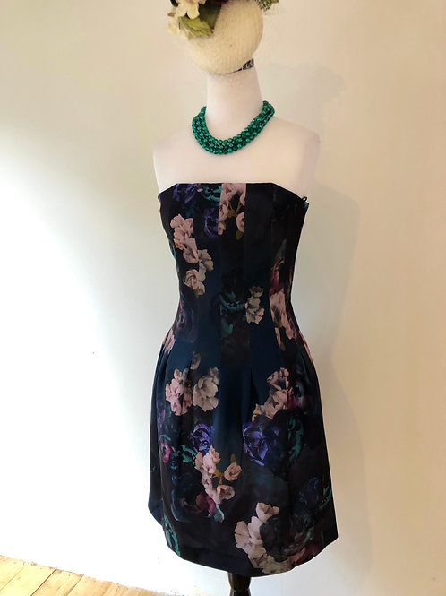 Floral 1950's frock with pockets