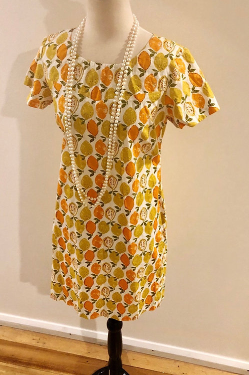 Vintage 1960's cotton baby doll frock