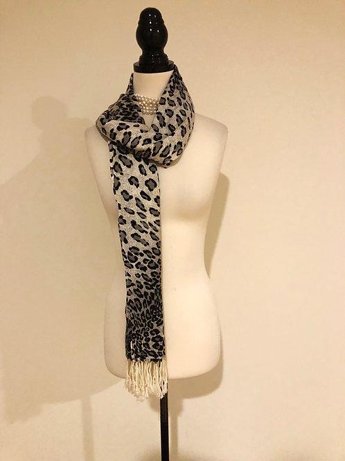 Brand new Pashmina cashmere leopard scarf