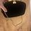 Thumbnail: Vintage 1980's velvet and gold chain evening bag
