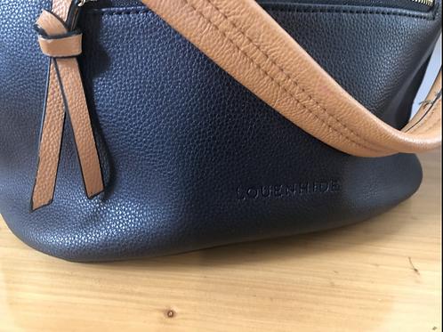 Designer leather louenhide handbag