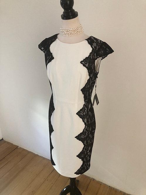 Designer evening dress