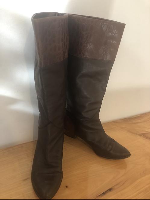 Sandler rare vintage 1980's leather boots