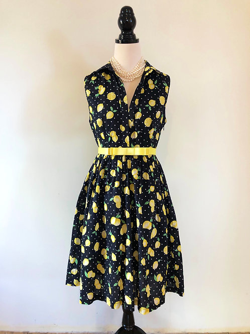French connection cotton frock and mulberry st belt