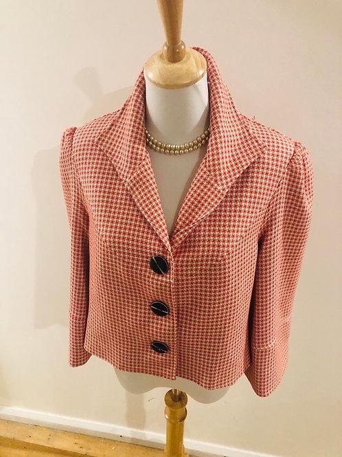 Australian designer gingham jacket