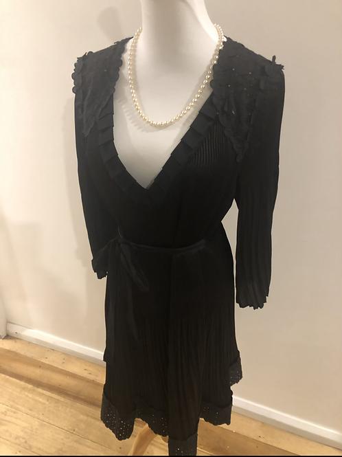 Katherine silk designer 1920's evening dress