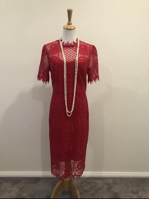 Jayson Brunson 1920's style lace evening dress