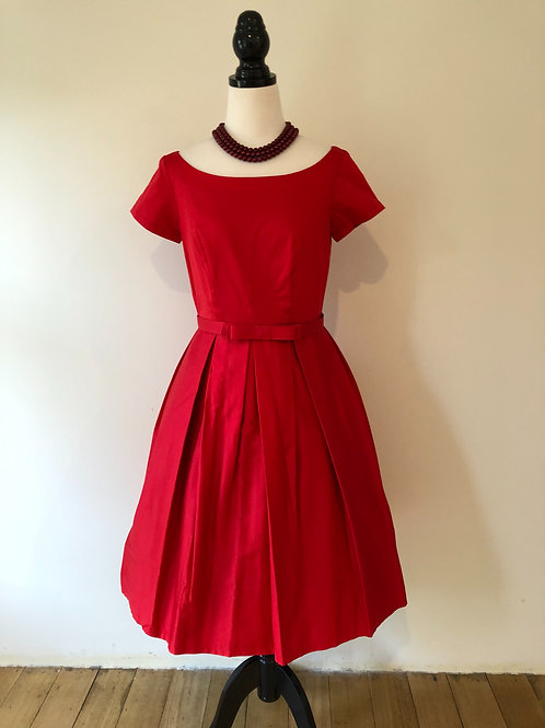 Mulberry street coco red frock