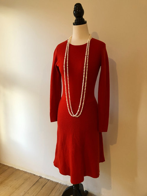Vintage 1960's jaeger soft wool winter frock