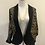 Thumbnail: Vintage silk and cotton printed jacket