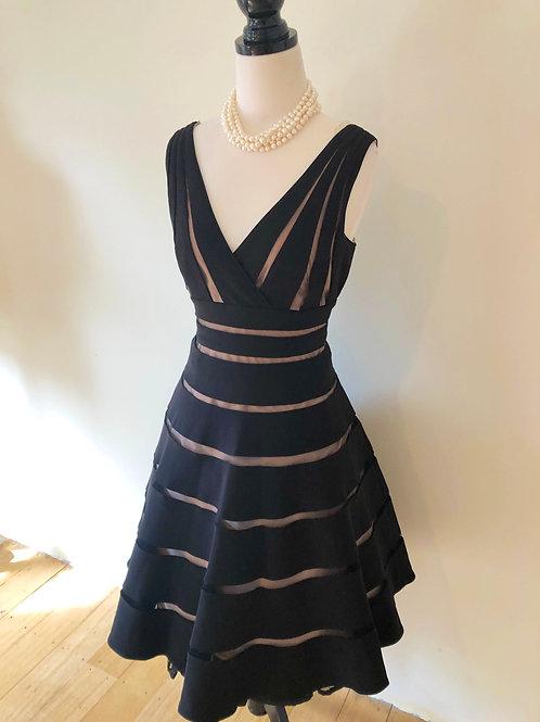 Designer 1950's style evening dress