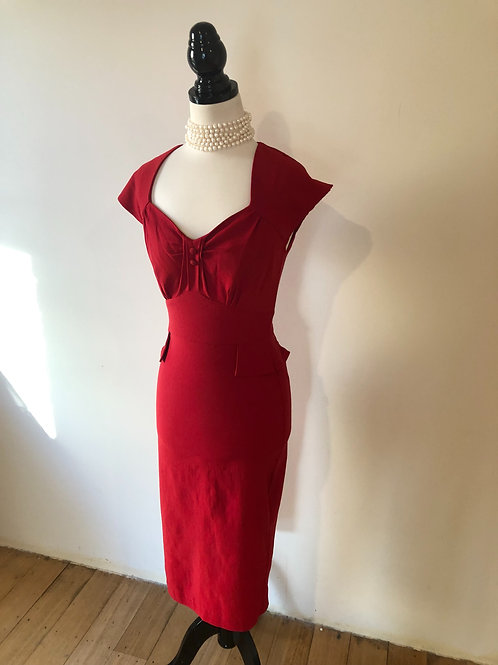 1940's style stop staring frock