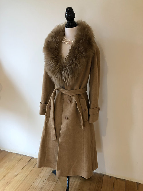 Vintage 1950's amazing wool coat
