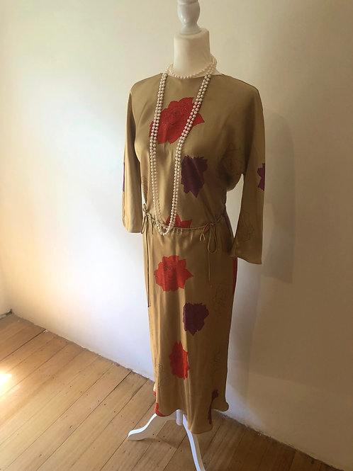 Vintage silk Lisa ho amazing dress!!