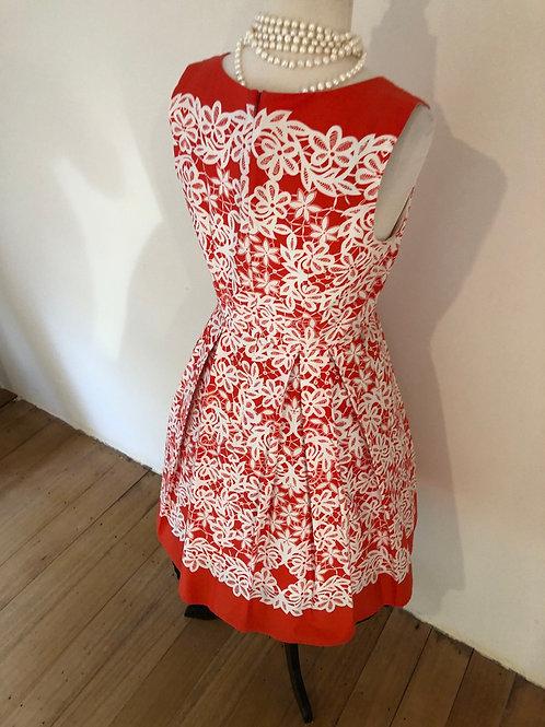 Stella cotton 1950's cotton dress
