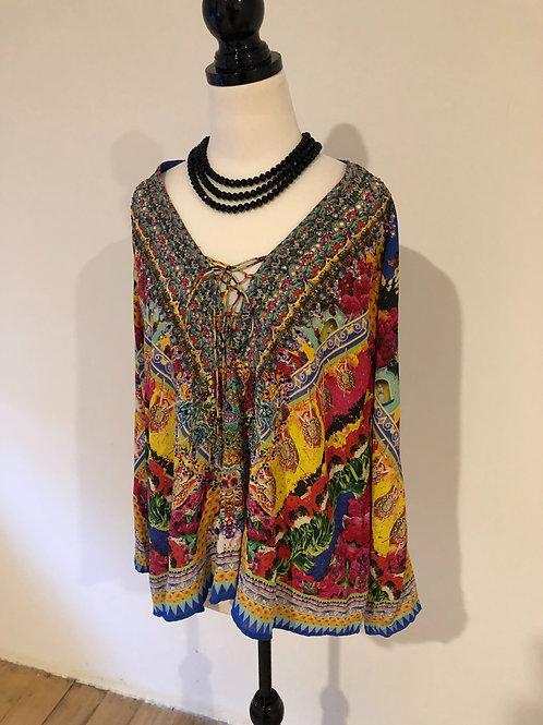 Camilla silk shirt