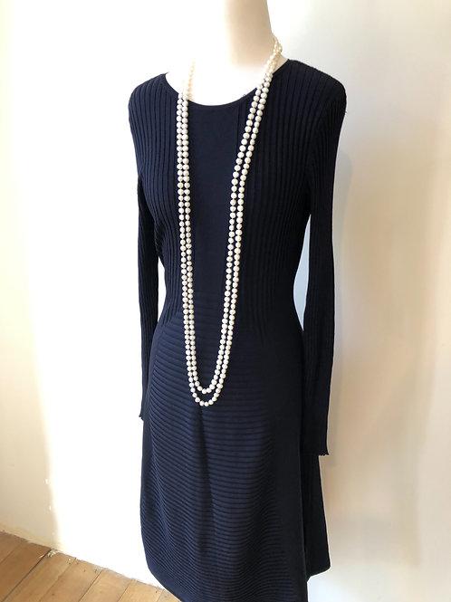 Brand new navy knit winter dress