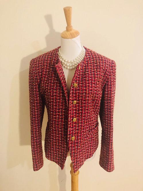 Vintage 1980's wool blend jacket