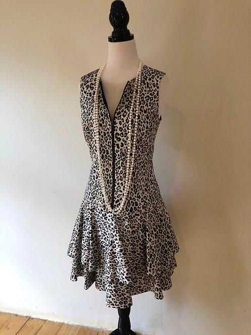 Australian Cue leopard print frock