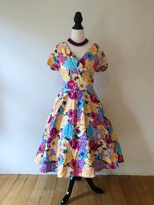1950's vintage style London frock
