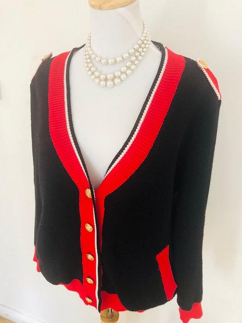 Vintage 1980's cardigan soft wool