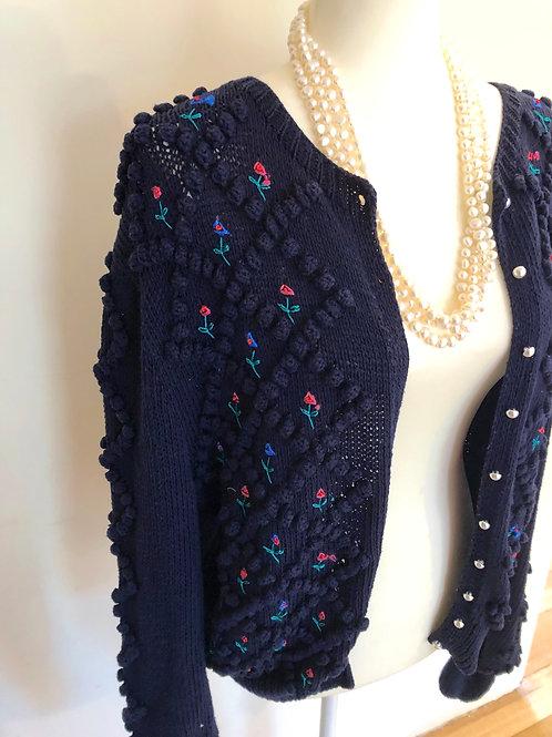 Amazing Vintage Australian knit cardigan