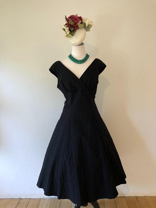 Australian made 1950's style black frock