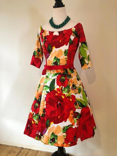 Lisa Baron cotton floral beauty