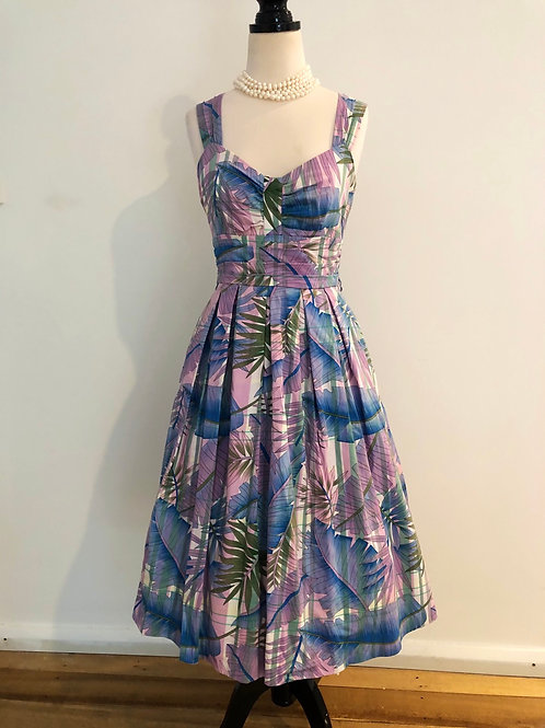Review 1950's style cotton frock