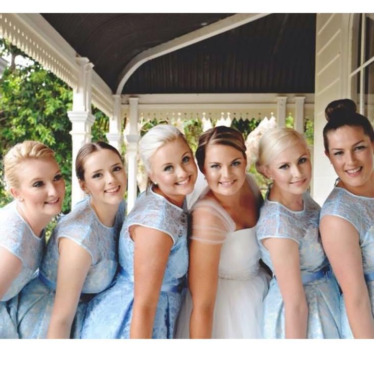 Custom Bridesmaid Gowns