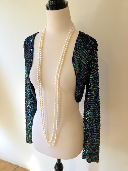 Vintage 1950's Paris beaded Bellero