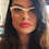 Thumbnail: Prada vintage 1950's style cat eye pretty glasses
