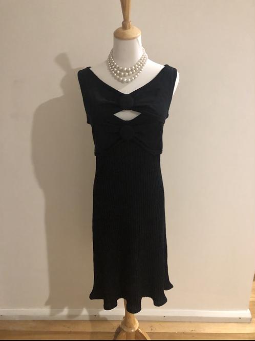 Designer Sabatini merino wool 1940's style frock