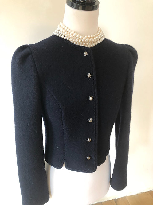 Vintage virgin pure soft wool jacket