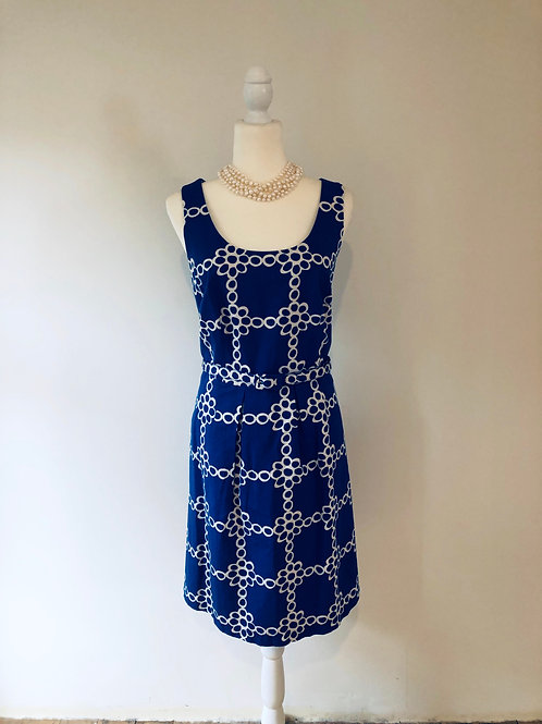 Boden 1960's style shift dress with pockets