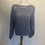 Thumbnail: Angora vintage blue knit jumper