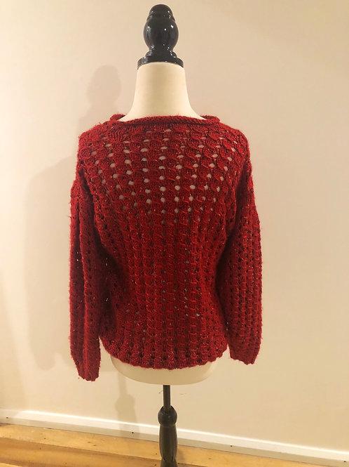 Vintage handmade wool knit jumper