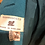 Thumbnail: Vintage 1950's mohair made in England teal coat