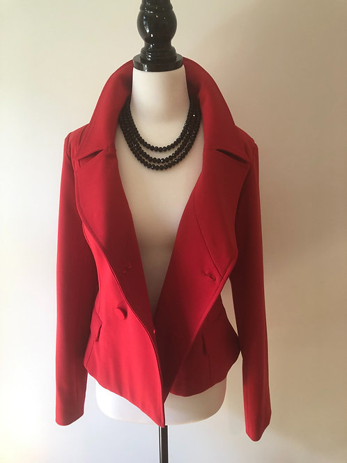 Designer Very Very red blazer