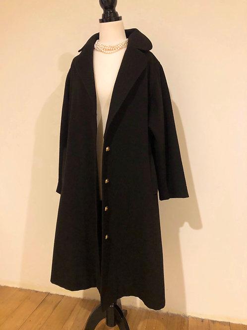 Vintage wool swing coat