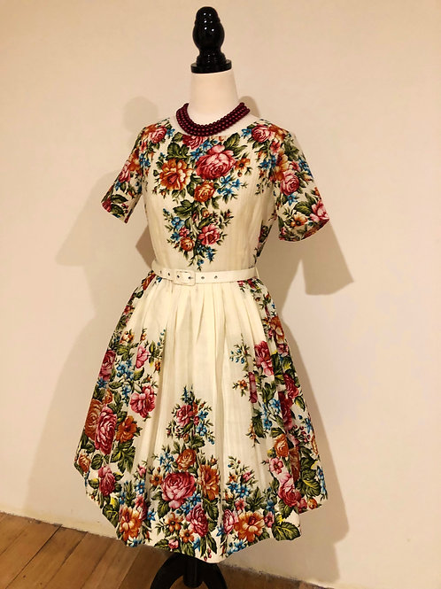 Designer Mrs Pomeranz 1950's style frock