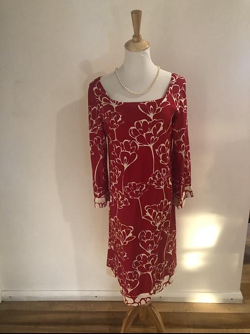 Designer totem cotton frock