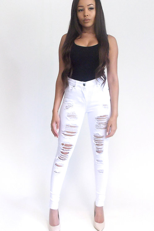 TAYLAR Ripped Jeans
