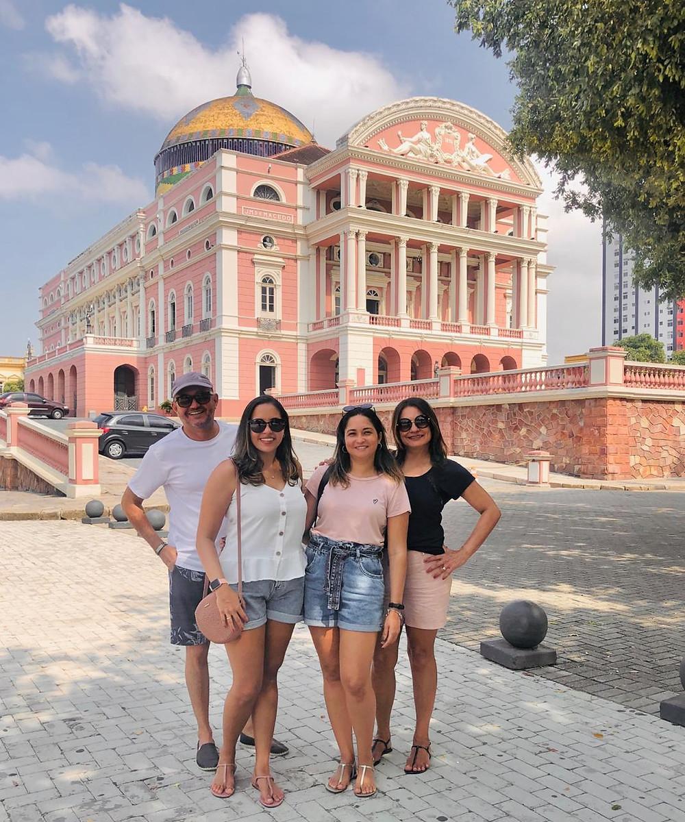 Walking tour em Manaus
