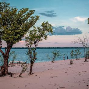 Praias de água doce próximas à Manaus