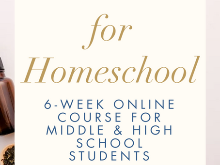Homeschool Herbalism