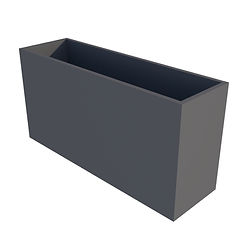 Powder coated retaingular planter.jpg
