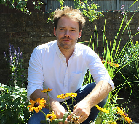Photo of Philip Woodburn, director of FORK Garden Design